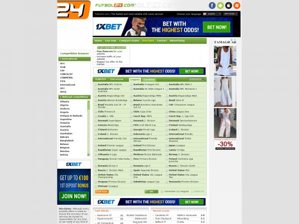Futbol24 Com Livescore
