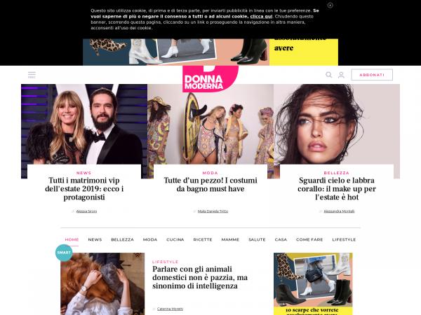 Donnamoderna.com - Donna Moderna è: segreti di bellezza ...