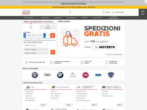 in vendita 21897 3019c Mister-auto.it - Ricambi Auto Online: Qualità e Risparmio ...
